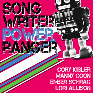 Songwriter Power Rangers on KZUM